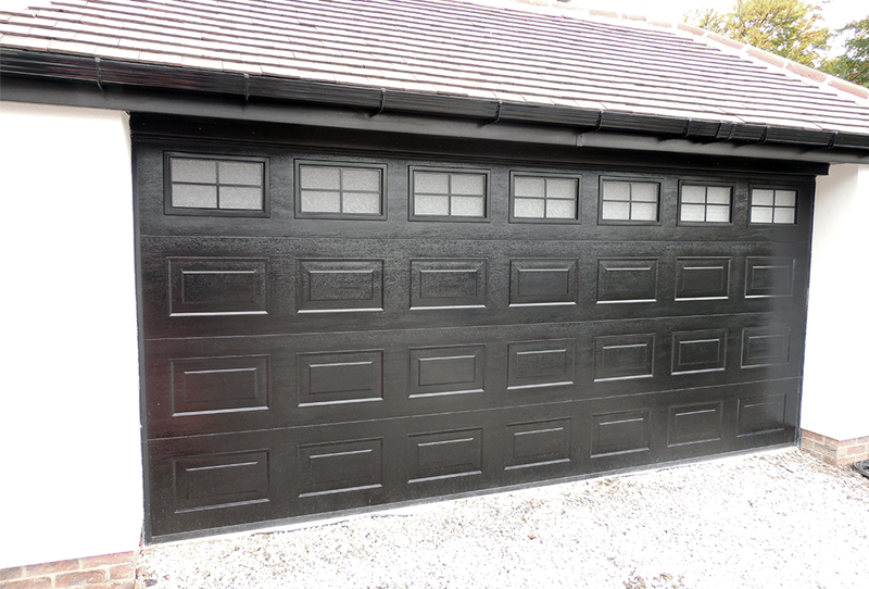 Residential Sectional Garage Door : Gliderol insulated sectional door garage doors