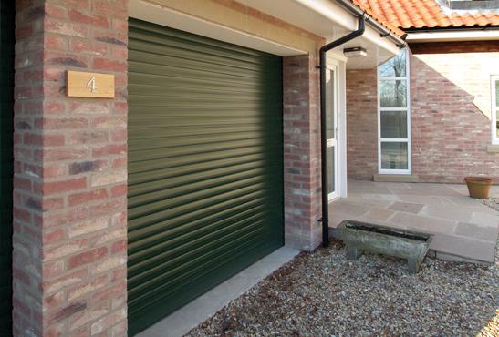 Gliderol Insulated Roller Door